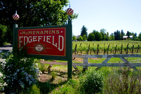 Edgefield winery for The edgefield