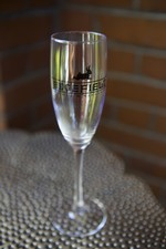 Edgefield Winery Flute Glass